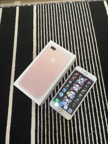 iPhone 7 Plus 256 gb Rose Gold Ex IBox Full set Mulus