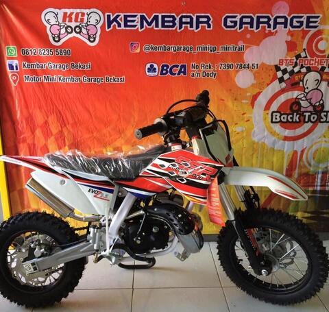 motor mini cross trail 50cc special engine kompetisi