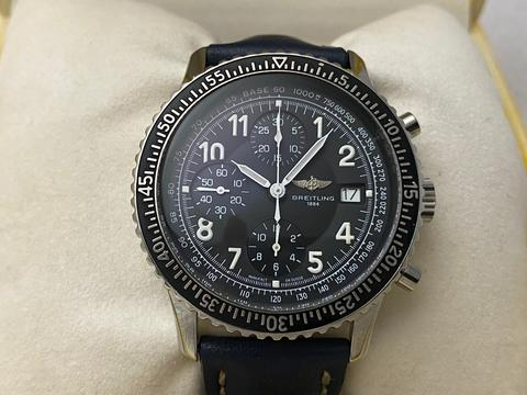 ORIGINAL BREITLING NAVITIMER AVIASTAR AUTOMATIC CHRONOGRAPH 41.5MM