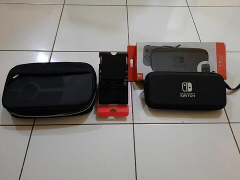 Nintendo Switch Grey V1 Second Berkualitas