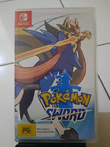[Switch] Nintendo Switch Pokemon Sword Second