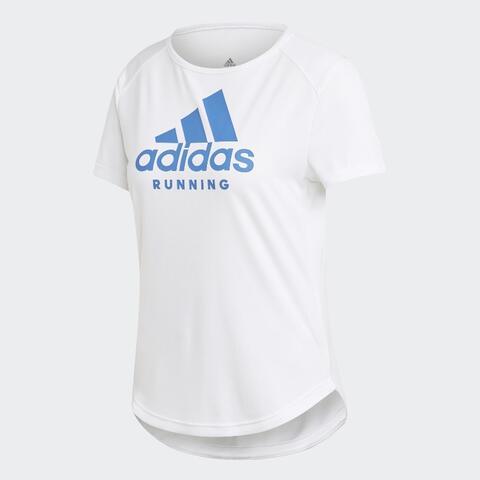 Adidas Badge of Sport Graphic Tee Kaos Lari Women 100% Original Size M