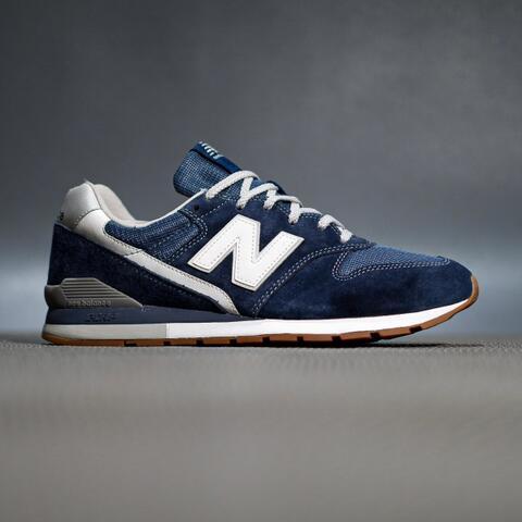 sepatu sneakers new balance cm996smn navy gumsole original murmer