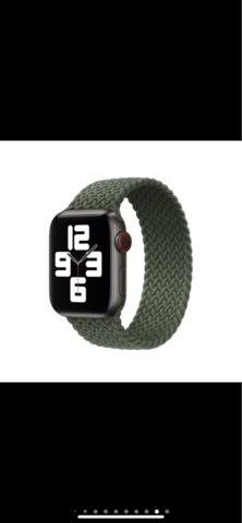 Braided solo loop iwatch 38 40 mm new