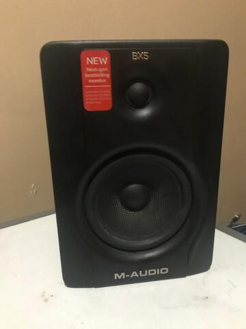 M-Audio BX5 Speaker Monitor Recording (Pair)