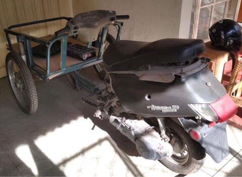 Beca Motor Gerobak Matic