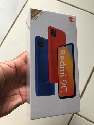 HP Langka Redmi 9C New Ori Garansi Resmiiii