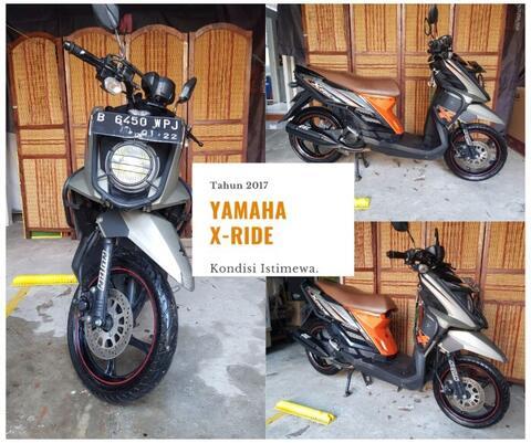 YAMAHA X-RIDE XRIDE 2017 not Mio Honda Beat
