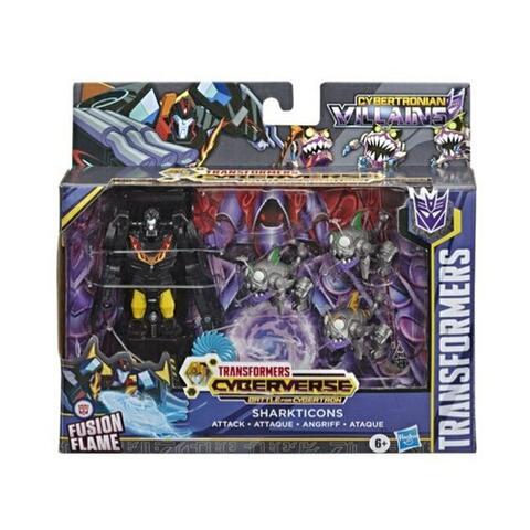 Transformers Cyberverse Sharkticons Attack Battle for Cybertron Original Hasbro