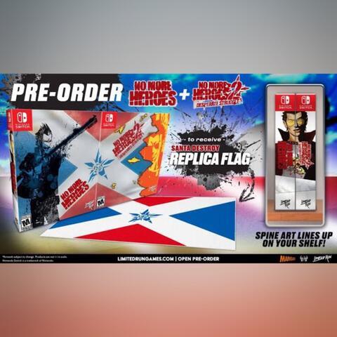 Preorder (DP) - No More Heroes Santa Destroy Bundle (Switch)