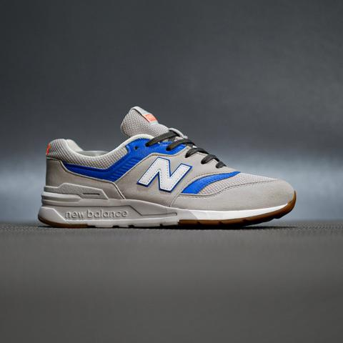 sepatu sneakers new balance 997H light grey blue original murmer