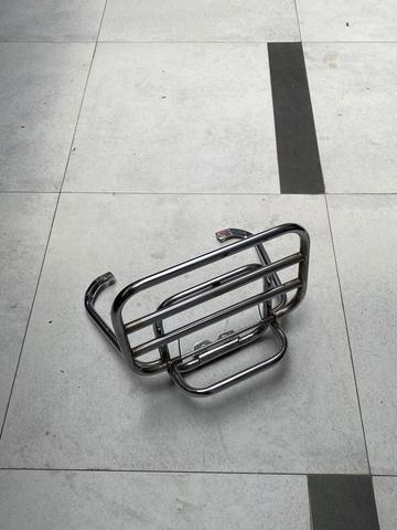 ORI Rear Backrack Vespa Sprint Chrome