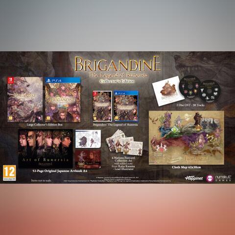 Preorder (DP) - Brigandine The Legend of Runersia Collector's Ed (PS4)