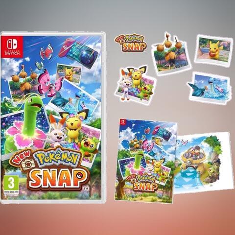 PO Import - New Pokemon Snap (Switch) + Bonus Offer