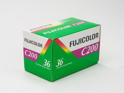 fujifilm fujicolor c200 - film warna fuji