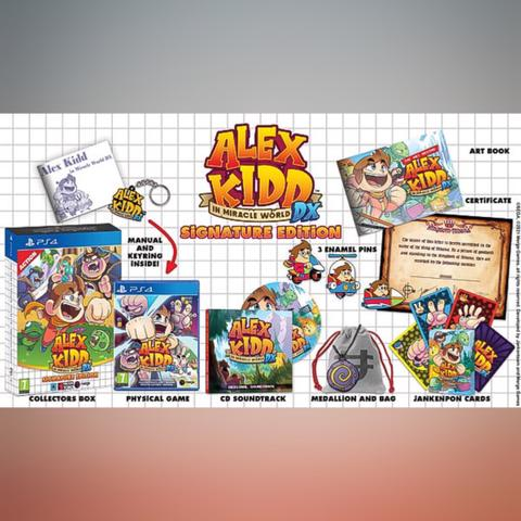 Preorder (DP) - Alex Kidd In Miracle World DX Signature Edition (PS4)