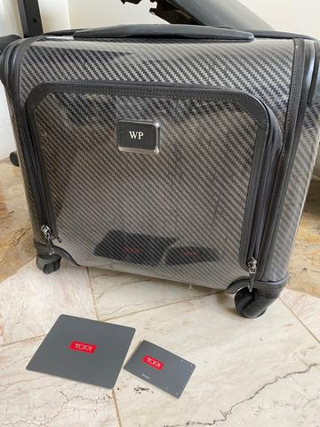 Koper Cabin Tumi Tegra-Lite Max Carry-On Wheeled 15 Inch Luggage