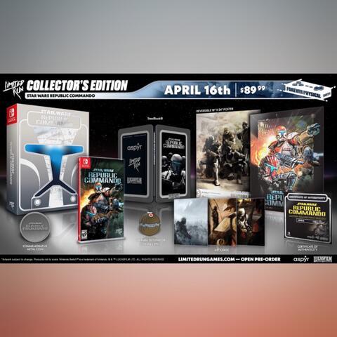 Preorder (DP) - Star Wars Republic Commando Collector's Edition (Switch)