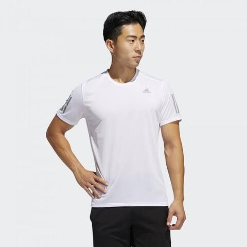 Adidas Own The Run Cooler Tee Kaos Lari Pria 100% Ori FM5803 Size L