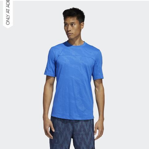 Adidas TKY Camo Tee Kaos Training Blue 100% Original Size M