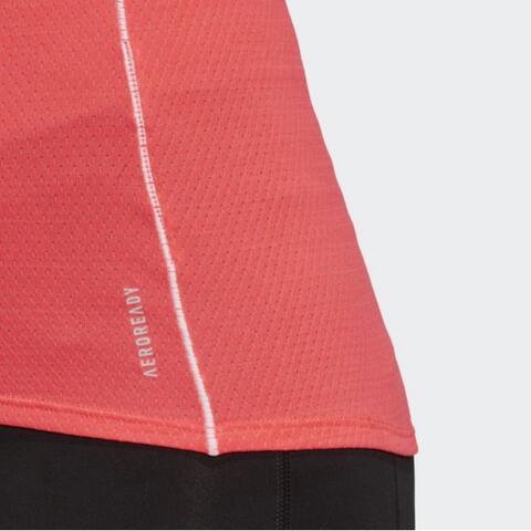 Adidas Runner Tee Kaos Lari Wanita Women FT6450 Size L 100% Original