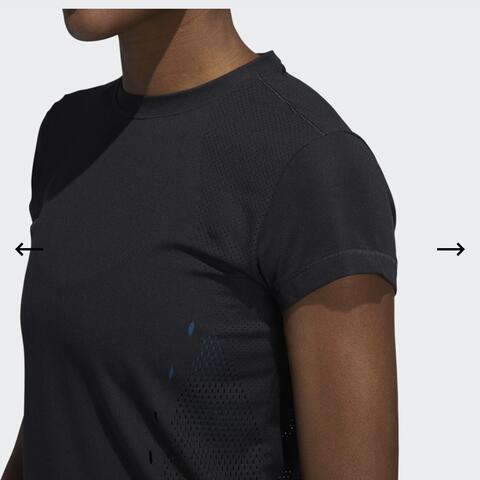 Adidas Tee Climalite Kaos Training Gym 100% Original DX7532 Size S