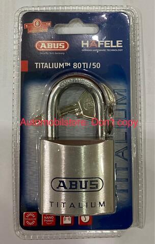 Abus Titalium 80TI/50