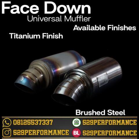 ARP DEVELOPMENT | FACE DOWN SHORT BRUSHED STEEL