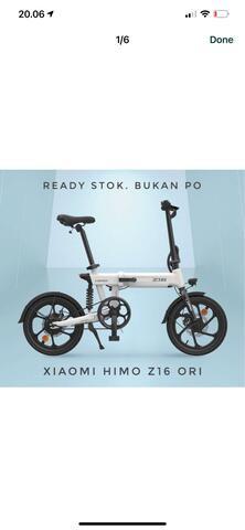 HIMO Z16 sepeda listrik xiaomi himo z16
