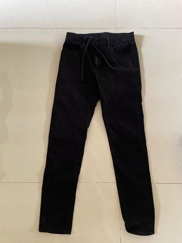 Skinny jeans uniqlo 2nd 100% original like new black