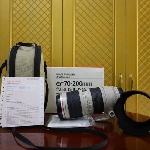 Lensa Canon EF 70-200mm f2.8 L IS II USM - Like New