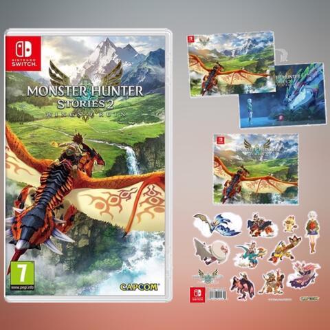 Preorder (DP) - Monster Hunter Stories 2 (Switch) + Bonus Offer