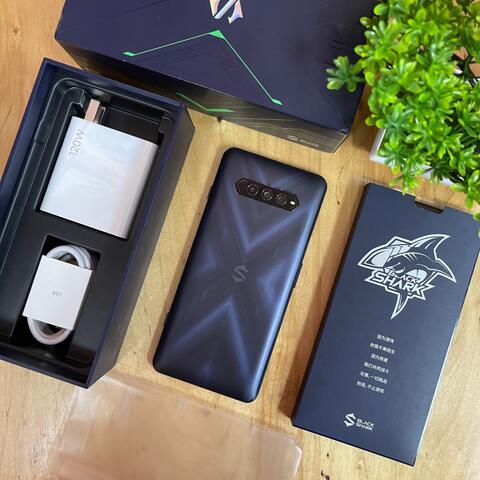 Black Shark 4 5G 12/128GB Black Like new Condition Full Original