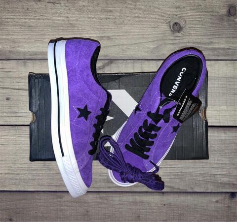 Converse one Star OX purple