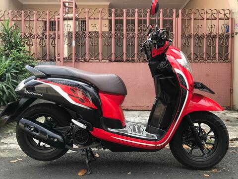 """Honda Scoopy R 12 Ban Donat Th""""2019 B.Dki Pjk Pjg 1 Thn Mtr Spt Baru"""