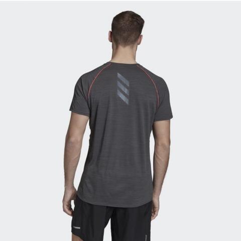 Adidas Runner Tee Men Kaos Lari Pria Original