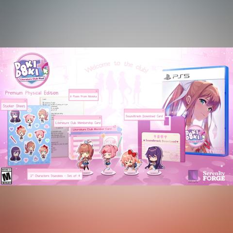 PO Import - Doki Doki Literature Club Plus! Premium Edition (PS5)