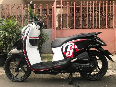 """Honda Scoopy FI Esp Iss Remote Th""""2017/2016 B.Dki Pjk Pjg Mtr Gress"""