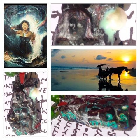 Kalung Liontin Nyi Roro Kidul Ratu Pantai Selatan