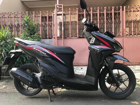 "Honda Vario 125 New Esp Iss Remote Th""2018 B.Dki KM Rendah Mtr Gress"