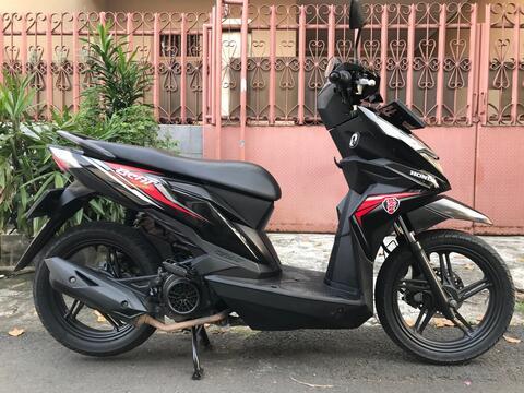 "Honda Beat Eco Th""2019 B.Dki Mtr Gress Spt Baru"