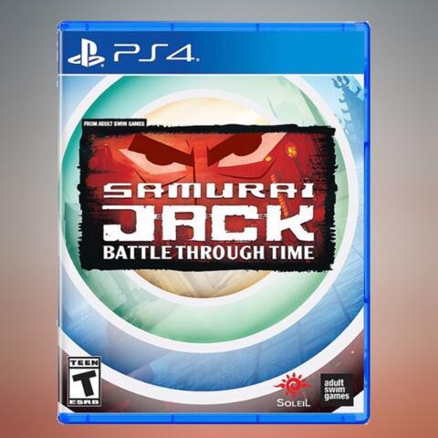 PO Ready Import - Samurai Jack Battle Through Time (PS4)