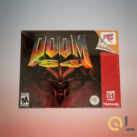 Ready Stock - DOOM 64 Classic Edition (PS4)