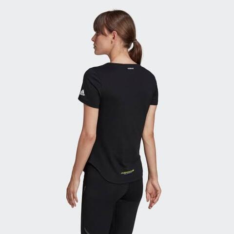 Adidas Edge Tee Kaos Lari Wanita GI4858 Original