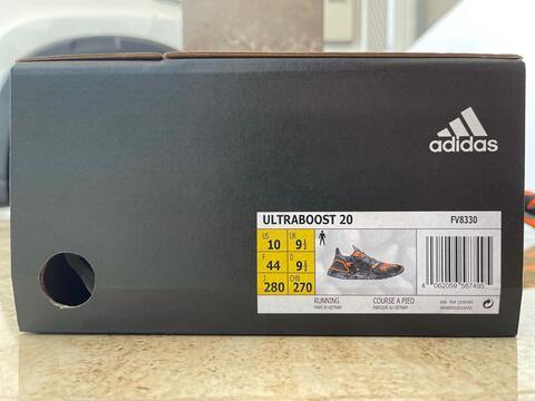 Adidas Ultraboost 20 Sepatu Lari Pria FV8330 Original