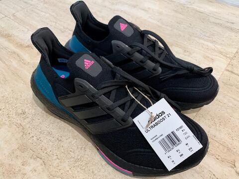 Adidas Ultraboost 21 UB21 Sepatu Lari Pria FZ1921 Original