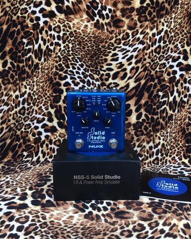 Nux Solid Studio IR & Power Amp Simulator Pedal