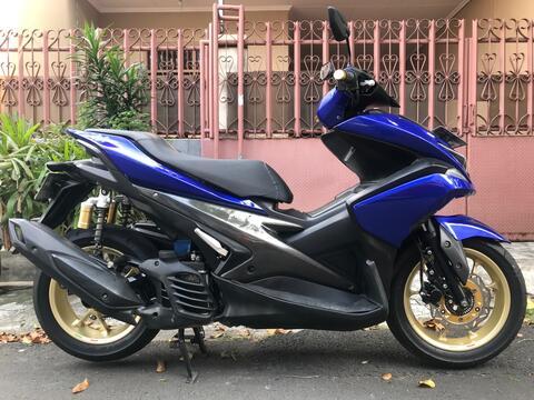 "Yamaha Aerox SE Movistar Type R Th""2017 B.Dki KM Rendah Antik"