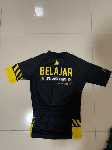 Jersey sepeda roadbike / mtb oric, pollride, kipsta decathlon 2nd original