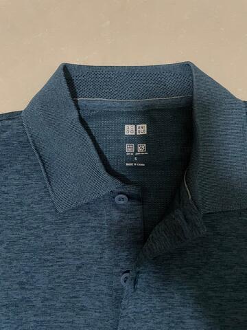 Poloshirt uniqlo pria dryfit 100% new original
